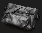 "Utility Bag for 19"" Amps and more in Top Grade Nappa"
