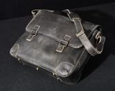Laptop Bag in Cow Antique